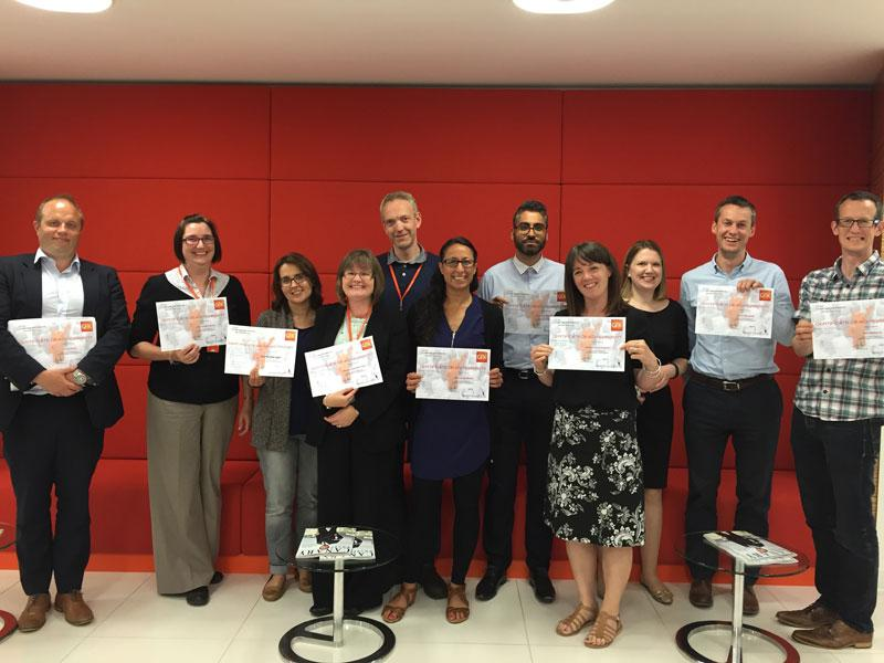 GfK London Group 1 Graduation 2016